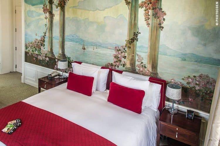 Casa Gangotena bedroom.