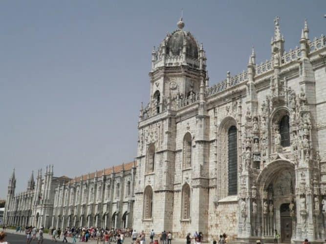 Jeronimos monastery in Lisbon.