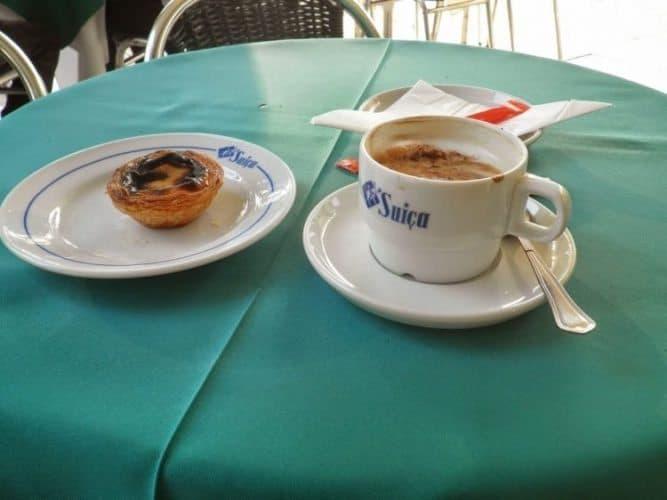 Pasties de Nata, famous in Lisbon.