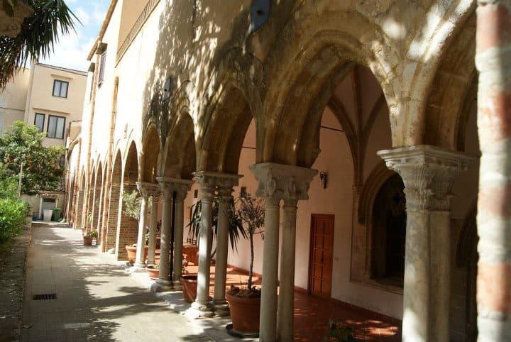 The Sicilian monastery in Baida, near Palermo. Raluca Maier photos.