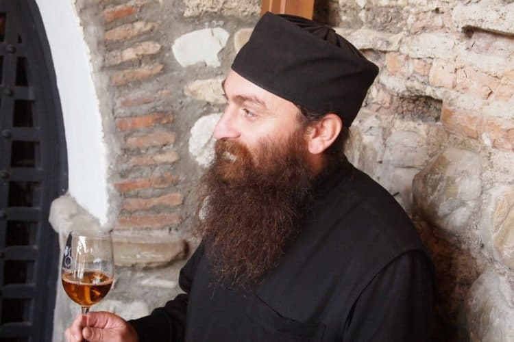 Some of the best winemakers are priests, and there are thousands of churches all across Georgia.