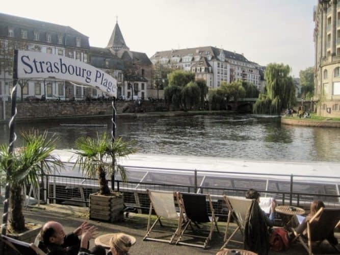 France: Strasbourg Then and Now