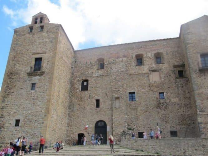 The castle at Castelbuono.