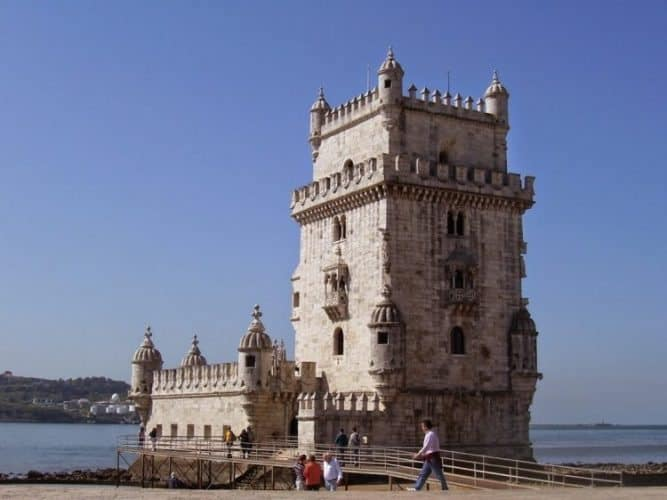 Torre de Belem, Lisbon's symbol on the Tagus riverfront.
