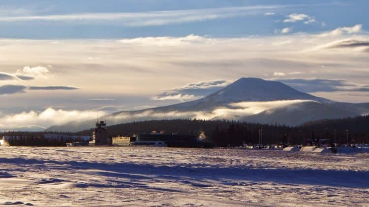 Whitehorse airport.