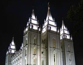 Salt Lake City's Mormon Temple