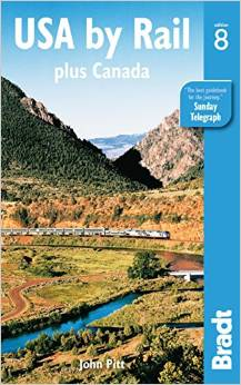 USA by Rail guidebook by Bradts