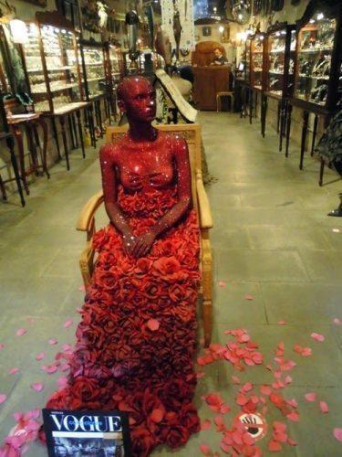 Rose lady.