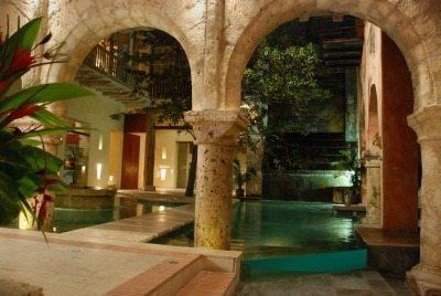 The villa in Cartagena