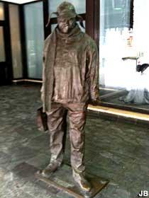 Ignatius Riley statue.