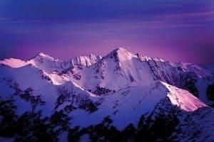 Mountains at Big Sky