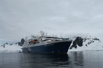 Ocean Diamond 2 January 2014 in Antarctica. Zaid Mohamedy photo.