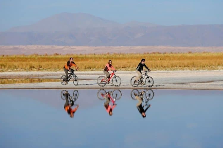Biking in Atacama, Chile