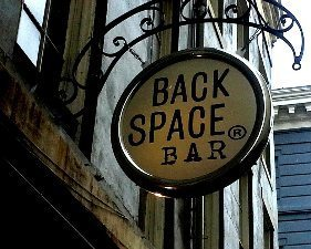Backspace Bar, New Orleans.