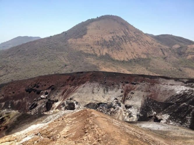 On top of the Cerro Negro volcano</span($40-$65 each depending on the number of participants)