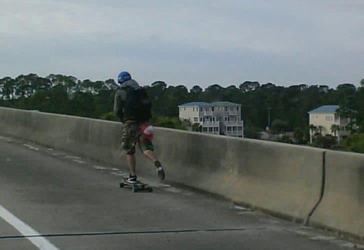 Brian Zygomontowicz will soon travel the US by skateboard.