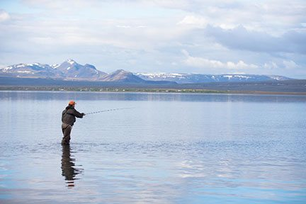 Iceland exudes peace and beauty in its environment.