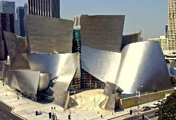 Disney Hall, downtown Los Angeles.