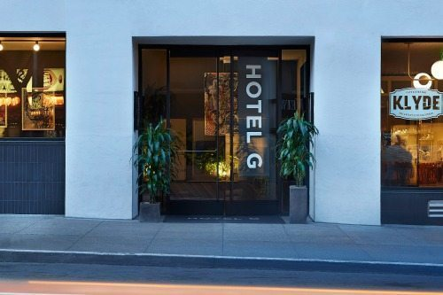The Hotel G is right in the heart of San Francisco.
