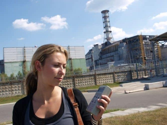 Julia visits Chernobyl in Ukraine.