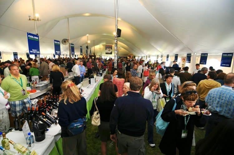 The famous Aspen Food and Wine festival.