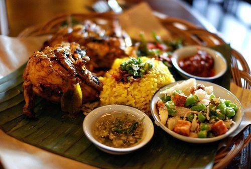 A dish eaten in Bali