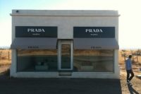 Prada store, an art installation in Marfa.