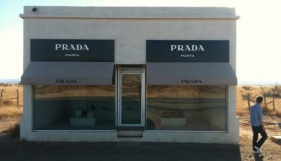 Prada store, an art installation in Marfa.
