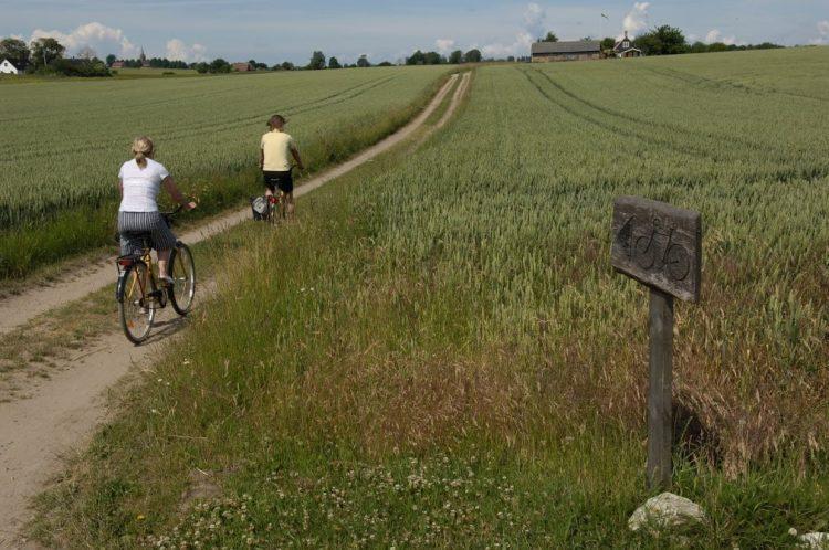 Cycling on the island of Ven. photo Visit Hven Tourist bureau