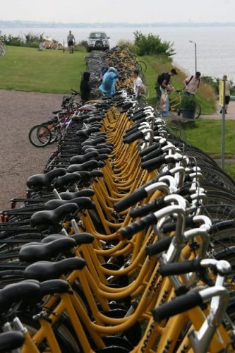 When in Ven, choose a rental bike and you'll be able to get around. Jane Graham photos.