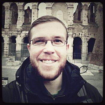 First selfie in Rome.