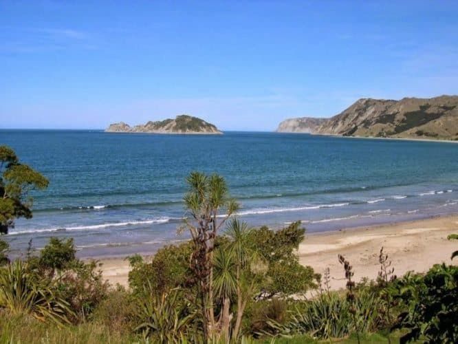Anura Bay, Gisborne, New Zealand. Kurt Jacobson photos.