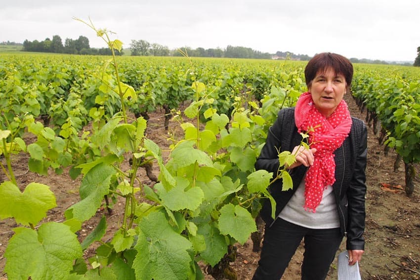 Barbara Beaussant of Chateau du Cleray in Vallet
