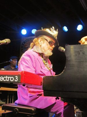 Dr John at Tipitinis in New Orleans.