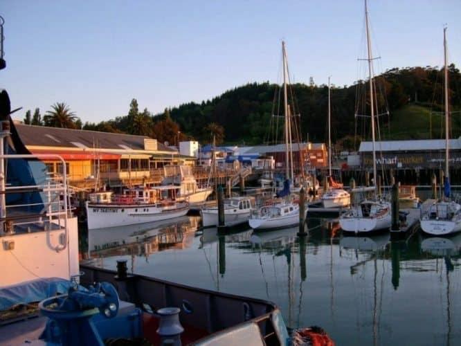 Gisborne harbor.