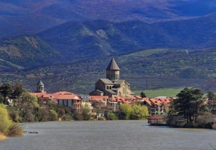 Mtskheta. ancient capital of Georgia, a UNESCO World Heritage Site