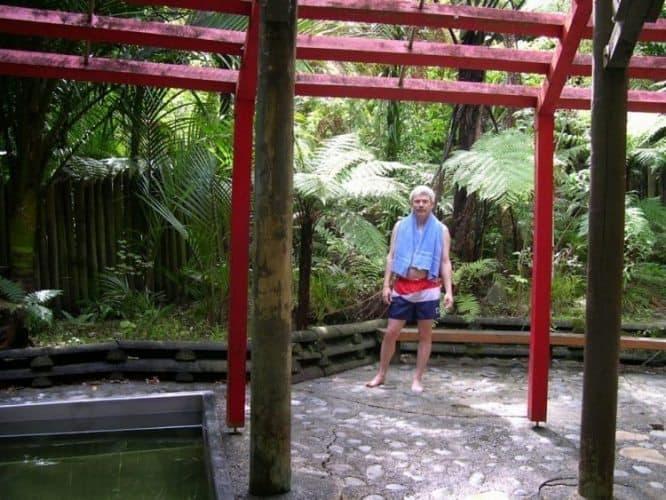 Morere Hot Springs in Gisborne
