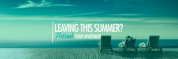 Leaving this summer? Check out Flatbook!