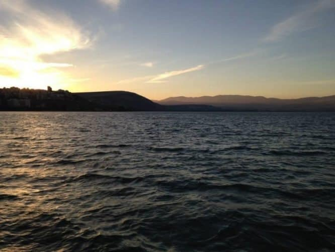 Sea of Gallilee.