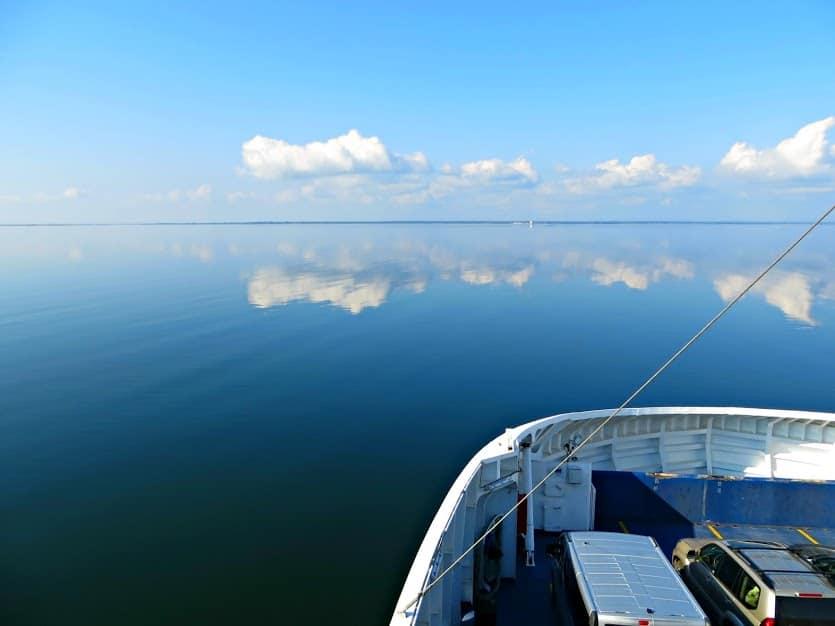 The Ferry to Saaremaa Island, Estonia.