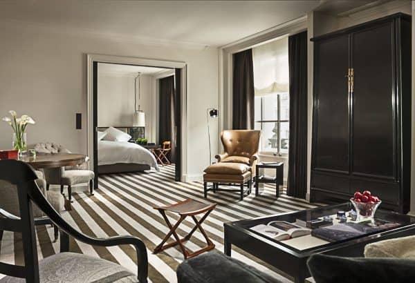 The Rosewood London Premier Suite.