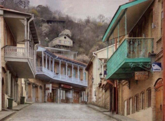 Town of Tbilisi