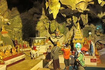 Burma: Buddhism in a Cave