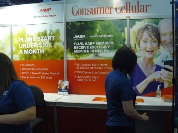 Consumer Cellular offers phone service for less than $10 a month.