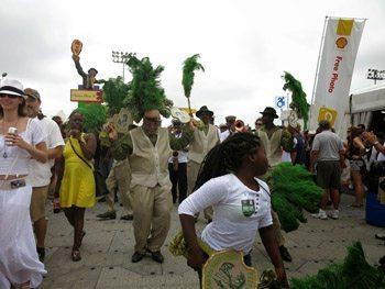 Festival revelers.