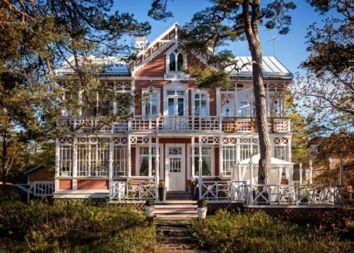 Hotel Villa Meija in Hanko.