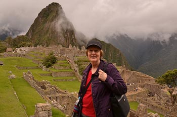 Traveling solo in Peru.