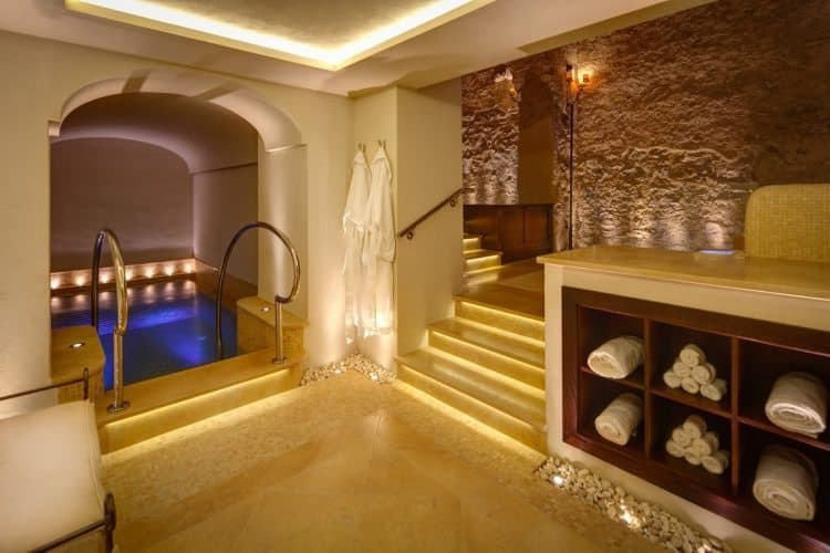 The Spa at Monastero Santa Rosa is a place of pampering and luxury