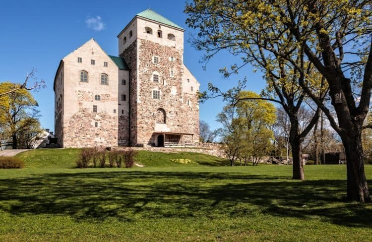 Turku Castle, on the waterfront, was built in 1280 and is used today for special occasions and celebrations.