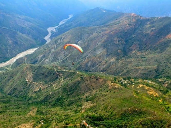 Colombia: Gliding Above San Gil - GoNOMAD Travel